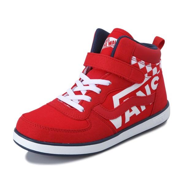 キッズ 【VANS】 ヴァンズ JUMA V2023KL B.L RED/NAVY