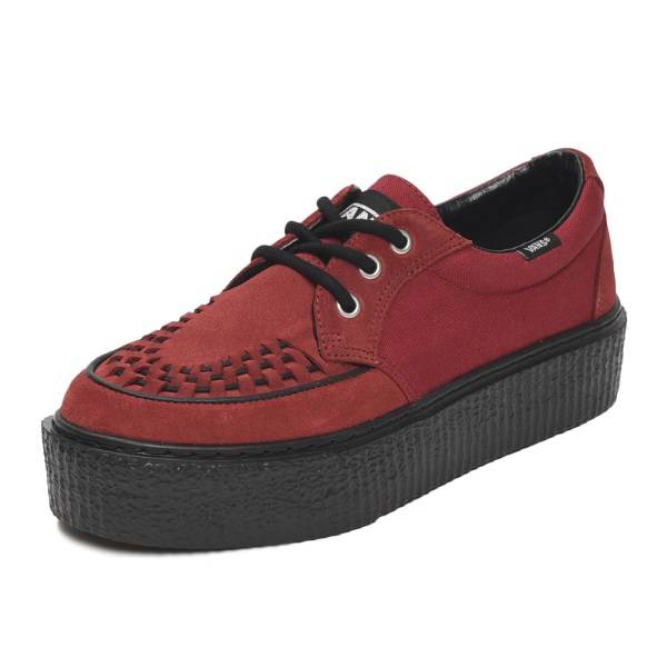 【VANS】CREEPERS OX ヴァンズ クリーパーズ OX V3920 RED