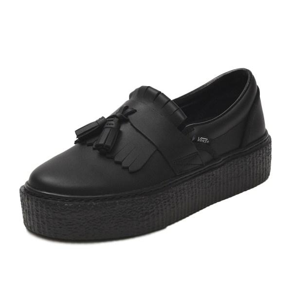 【VANS】TASSEL SLIP ON ヴァンズ タッセルスリッポン V3960 BLACK/BLACK