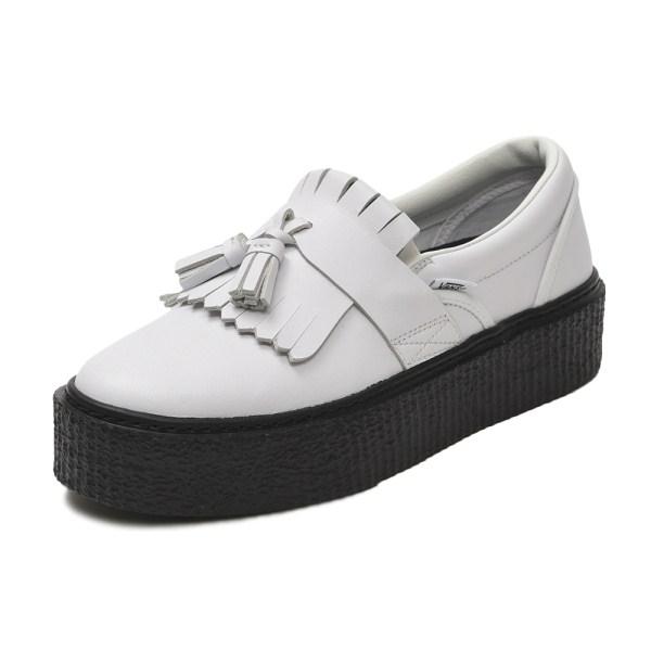 【VANS】TASSEL SLIP ON ヴァンズ タッセルスリッポン V3960 WHITE/BLACK