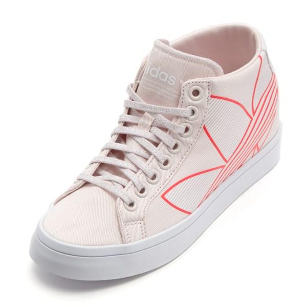 レディース 【adidas】 アディダスオリジナルス COURTVANTAGE HEEL コートバンテージヒール EE9423 ABC-MART限定 *TINT/WHT