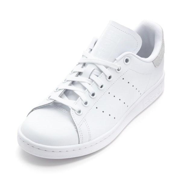 レディース 【adidas】 アディダスオリジナルス STAN SMITH J スタンスミス F34338 WHT/WHT