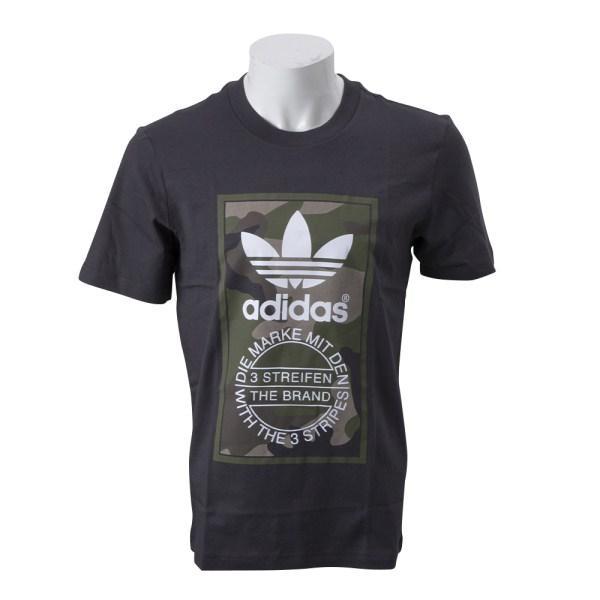 【ADIDAS ウェア】 アディダスオリジナルス M CAMO TEE カモ Tシャツ DV2060 BLK