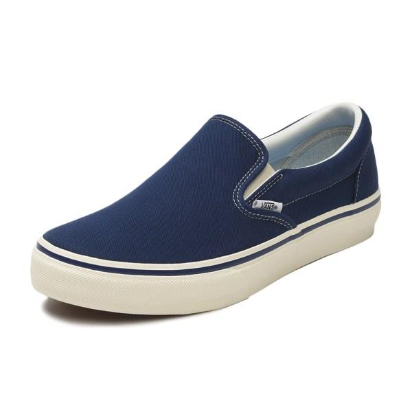 【VANS】COMFORT SLIP ON ヴァンズ スリッポン V98CF CLASSICS BLUE