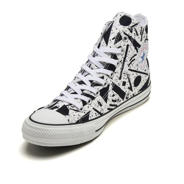 【CONVERSE】 コンバース ALL STAR 100 GEOMETRIC HI オールスター 100 ジオメトリック ハイ 32962300 WHITE