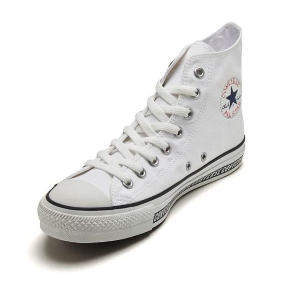 【CONVERSE】 コンバース ALL STAR LOGOLINE HI オールスター ロゴライン ハイ 32962320 WHITE