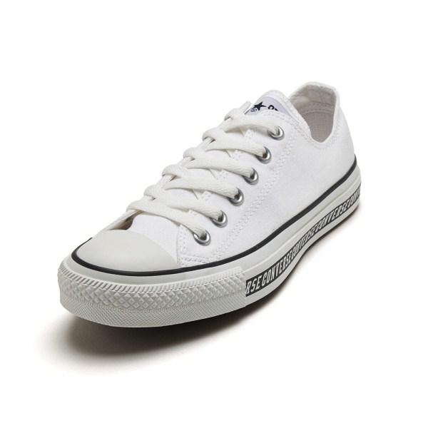 【CONVERSE】 コンバース ALL STAR LOGOLINE OX オールスター ロゴライン オックス 32863220 WHITE