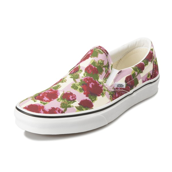 "【VANS】""ROMANTIC FLORAL"" CLASSIC SLIP-ON ヴァンズ クラシックスリッポン VN0A38F7VKB (R.FLORAL)MULTI"