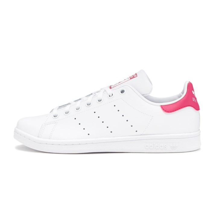 レディース 【adidas】 アディダスオリジナルス STAN SMITH J スタンスミス B32703 WHITE/WHITE