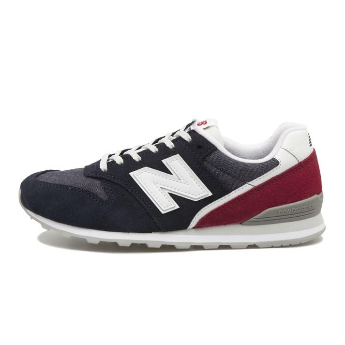 レディース 【New Balance】 ニューバランス WL996BA(D) ABC-MART限定 *NAVY/RED(BA)