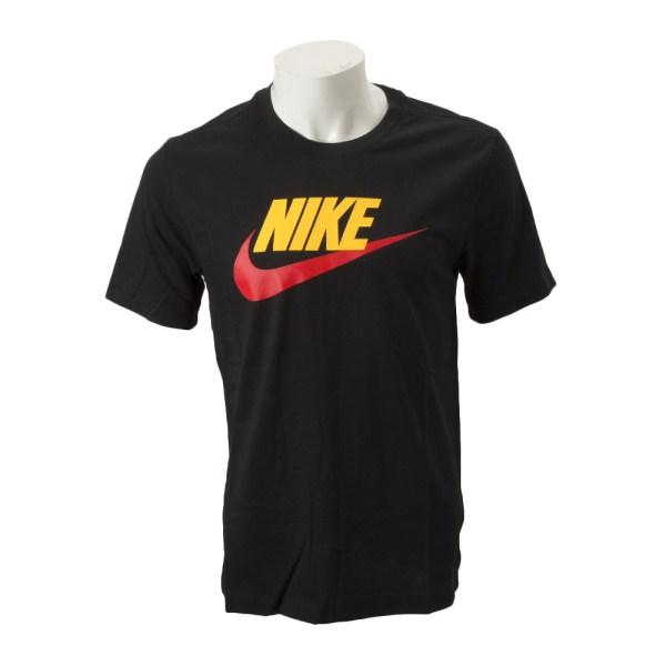 【NIKE ウェア】 ナイキウェア Mフューチュラ アイコン S/S Tシャツ AR5005-013 013 BLACK/UNVRE