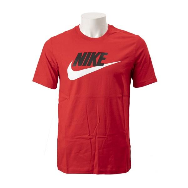 【NIKE ウェア】 ナイキウェア Mフューチュラ アイコン S/S Tシャツ AR5005-657 657UNVRED/WHIT