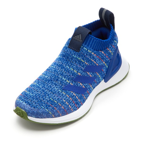 キッズ 【adidas】 アディダス rapidarun ll knit c (17-21) ラピダラン G27318 BLU/RYL