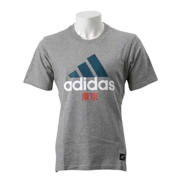 【ADIDAS ウェア】 アディダス M KC Tee BC 東京Tシャツ FH7779 GRY