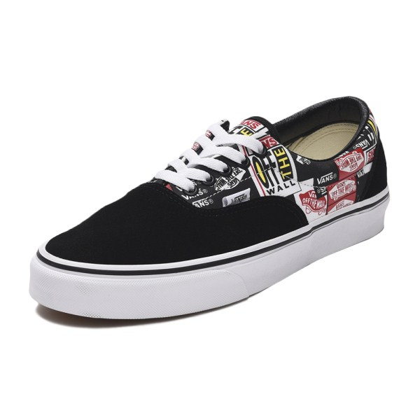 【VANS】ERA ヴァンズ エラ VN0A4BV4V9A (LABEL MIX)BLK