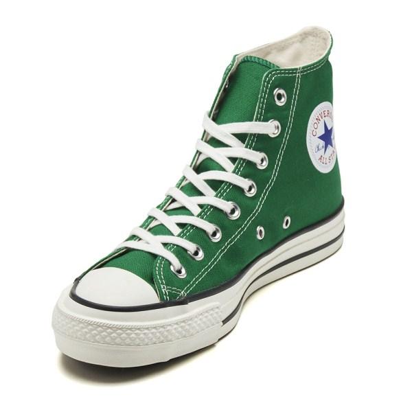 【CONVERSE】 コンバース CANVAS ALL STAR J HI キャンバス オールスター J ハイ 31300670 GREEN