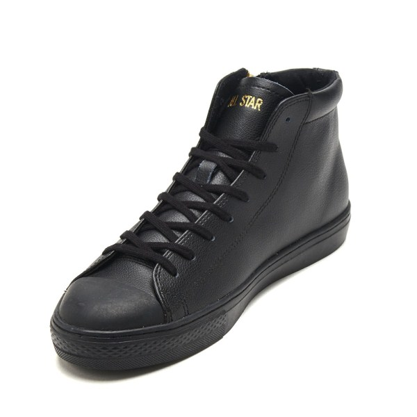 【CONVERSE】 コンバース ALL STAR COUPE LEATHER Z MID オールスター クップ レザー Z ミッド 31300280 BLACK