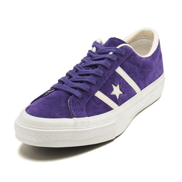 【CONVERSE】 コンバース STAR&BARS SUEDE スター&バーズ スエード 35200030 PURPLE
