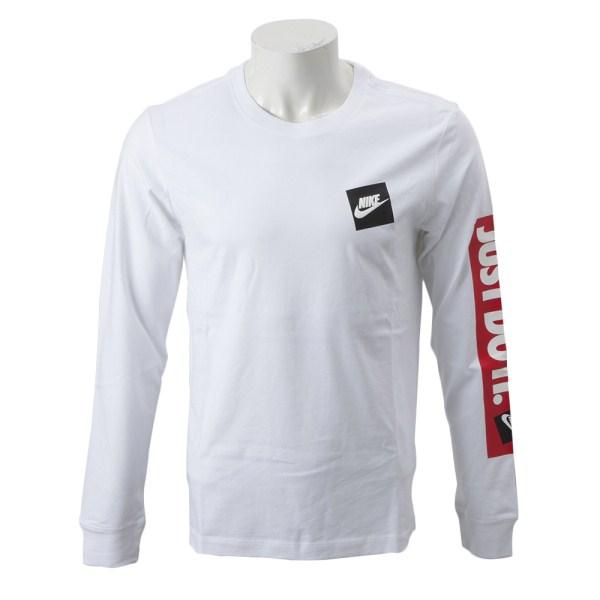 【NIKE ウェア】 ナイキウェア M JDI BMPR L/S Tシャツ CD9599-100 100 WHITE