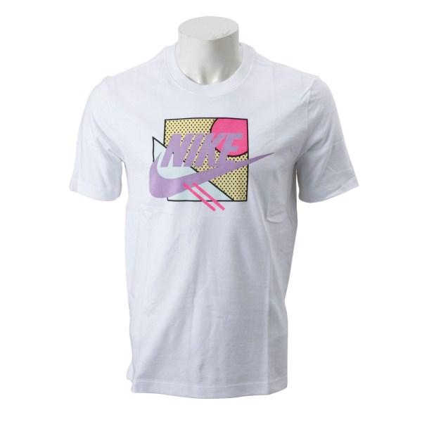 【NIKE ウェア】 ナイキウェア M AM270 アート 3 IR Tシャツ CJ7618-100 100 WHITE