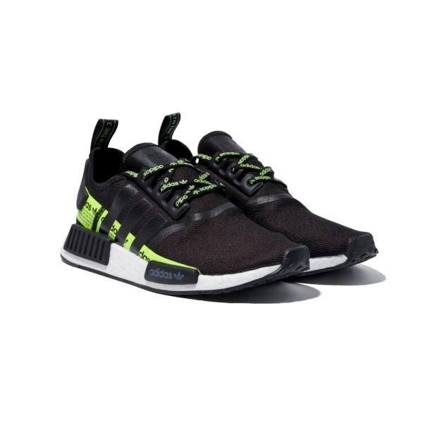 【adidas】 アディダス NMD_R1 エヌエムディー FV5510 ABC-MART限定 BLACK/BLACK