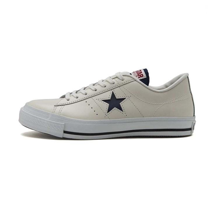 【CONVERSE】 コンバース ONE STAR J TR ワンスター J TR 35200070 ABC-MART限定 *WHITE/TRICO
