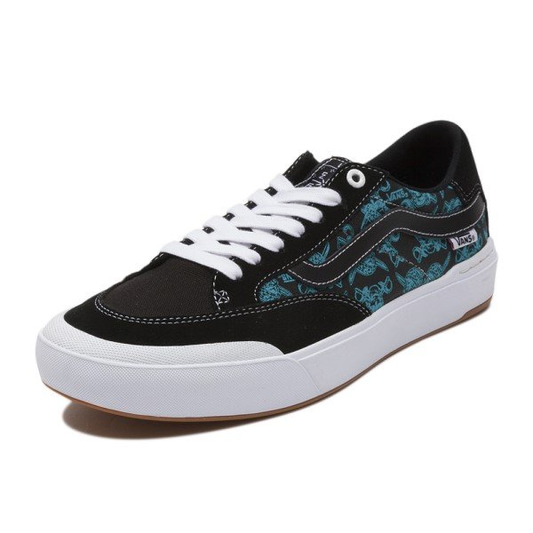 【VANS】BERLE PRO ヴァンズ バールプロ VN0A3WKXSTJ (PIRATE)BK/BIRD