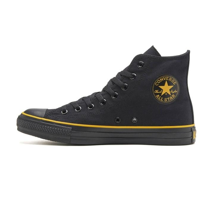 【CONVERSE】 コンバース ALL STAR WR BY HI オールスター WR BY ハイ 31302310 ABC-MART限定 *BLACK/YELLOW