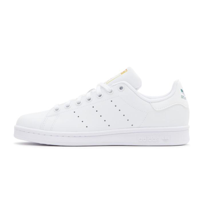 レディース 【adidas】アディダス STAN SMITH J スタンスミス EH0739 WHITE/WHITE