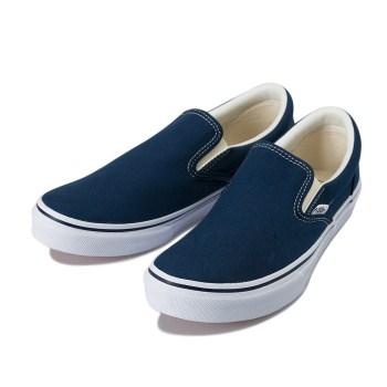 【VANS】 ヴァンズ SLIP ON スリッポン V98CLA DRESS BLUE