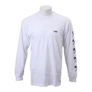 【VANSウェア】TRUJILLO LS ヴァンズ 長袖Tシャツ VN0A3HWDWHT 18FA WHITE
