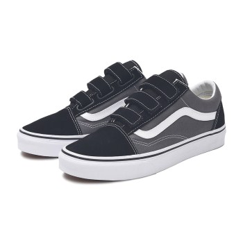 【VANS】OLD SKOOL V ヴァンズ オールドスクール V VN0A3D29PBQ PEWTER/BLACK
