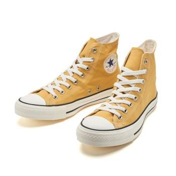 【CONVERSE】 コンバース ALL STAR WASHEDCANVAS HI オールスター ウォッシュドキャンバス ハイ 32962179 GOLD