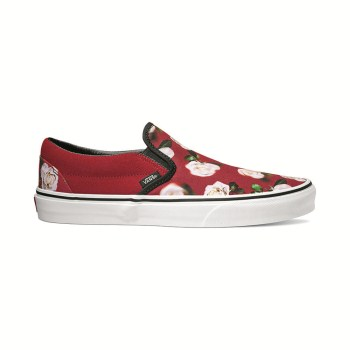 "【VANS】""ROMANTIC FLORAL""CLASSIC SLIP-ON ヴァンズ クラシックスリッポン VN0A38F7VMI (R.F)C.PEPPER"