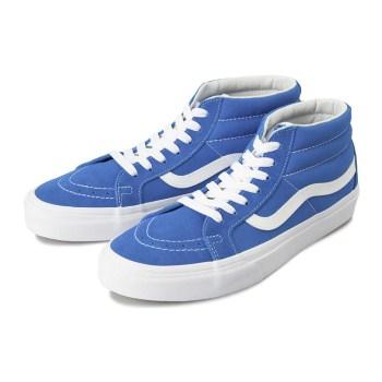 【VANS】SK8-MID REISSUE ヴァンズ スケートミッドリイシュー VN0A391FTOW (B.T)I.BLUE