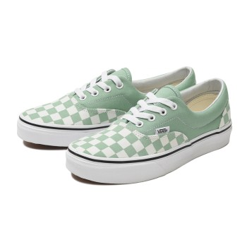 【VANS】ERA ヴァンズ エラ VN0A38FRVOV (CHECK)N.GREEN