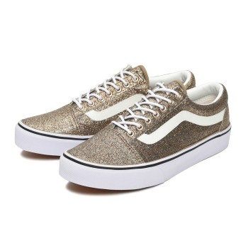 【VANS】OLD SKOOL DX ヴァンズ オールドスクール DX V36CL+ GLITTER GOLD