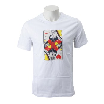 【NIKE ウェア】 ナイキウェア M SB QUEEN CARD Tシャツ AQ4506-100 100WHITE/HBNRR
