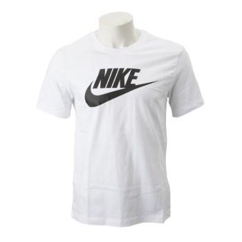 【NIKE ウェア】 ナイキウェア Mフューチュラ アイコン S/S Tシャツ AR5005-101 101 WHITE/BLACK