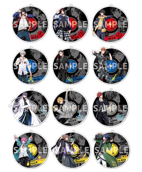 ヒプノシスマイク -Division Rap Battle- トレーディング ミラーキーホルダー 12個入りBOX(再販)[Y Line]《在庫切れ》