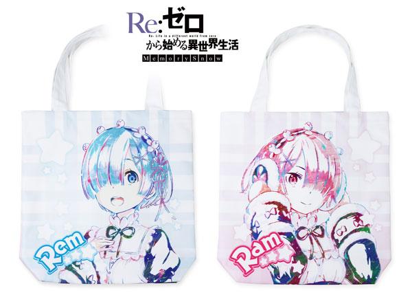 Re:ゼロから始める異世界生活 Memory Snow レム&ラム Ani-Art フルグラフィックトートバッグ[アルマビアンカ]《在庫切れ》