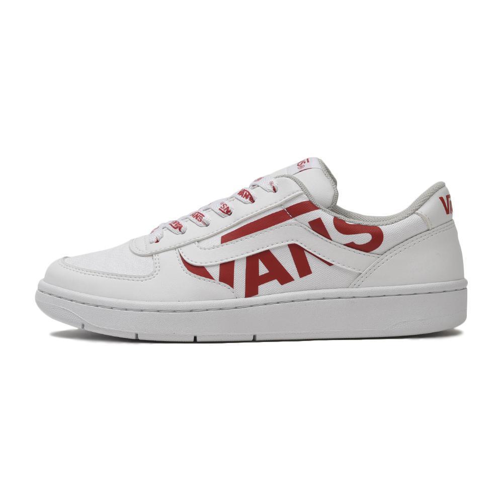 【VANS】 ヴァンズ FLOATER フローター V4410 WHITE/LOGO RED