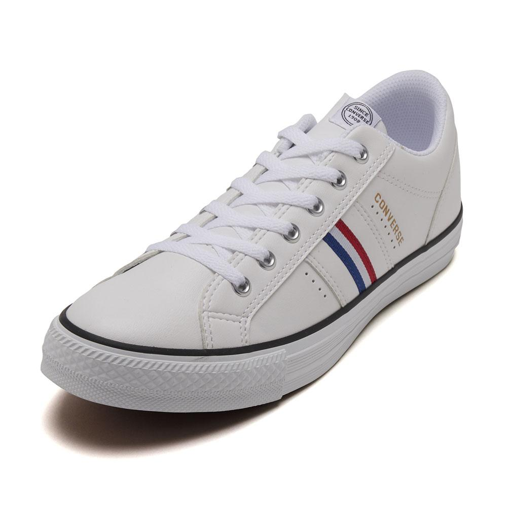 【CONVERSE】 コンバース CV V-C SL OX CV V-C SL OX 32766335 ABC限定*WHITE/NAVY/RED
