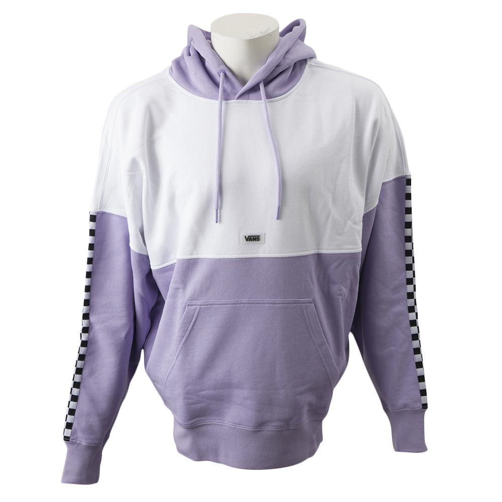【VANSウェア】WM AP LINGER FLC HOODIE Lavender ヴァンズ フーディー VN0A48BCLAE Lavender