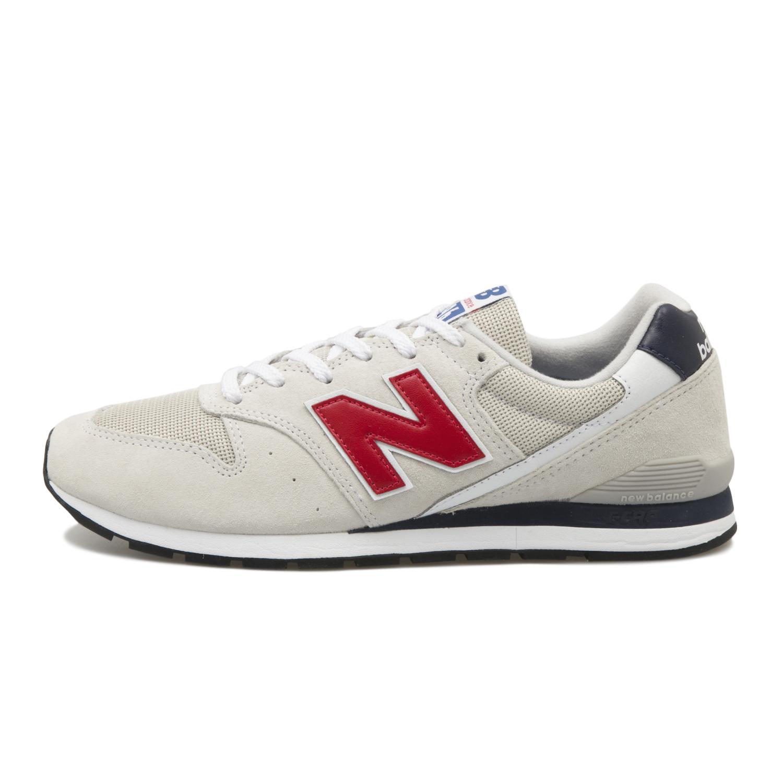 【NEW BALANCE】 ニューバランス CM996XC(D) CM996 CM996XC WHITE/RED(XC)