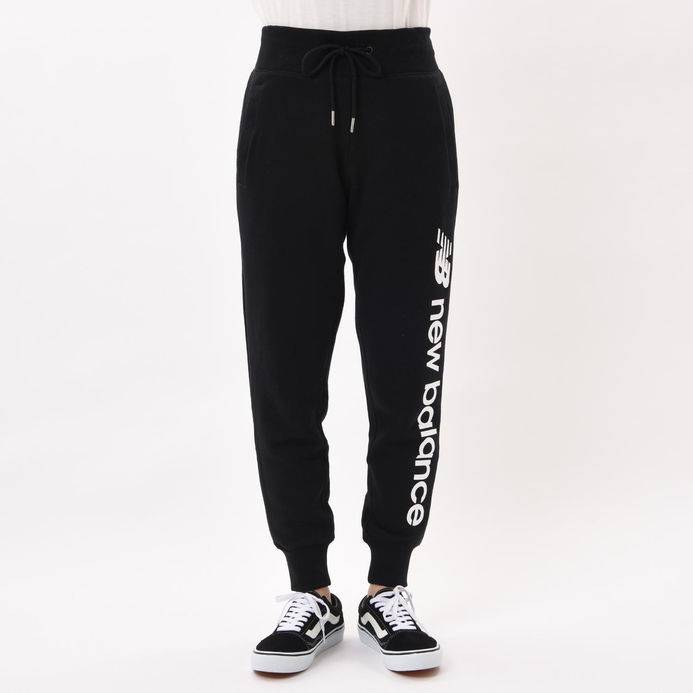 レディース【New Balance】 ニューバランス スポーツスタイルオプティクススウェットパンツ パンツ AWP93509BK BK