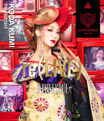KODA KUMI LIVE TOUR 2019 re(LIVE)-JAPONESQUE-(Blu-ray)