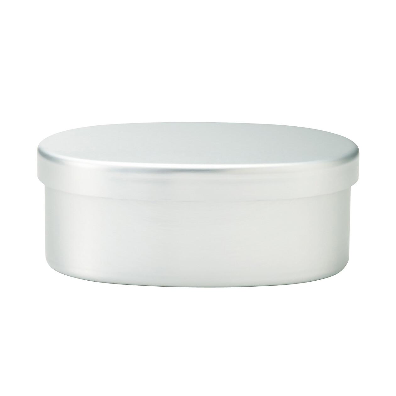 アルミ弁当箱・大 約450ml/約10.5×15×6cm