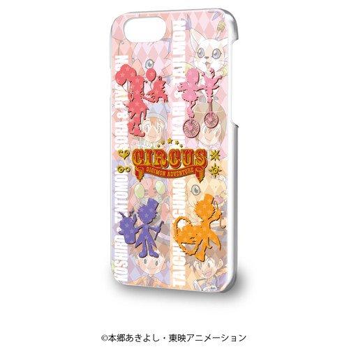 ハードケース(iPhone6/6s/7/8兼用)「デジモンアドベンチャー」01/太一&ヒカリ&空&光子郎