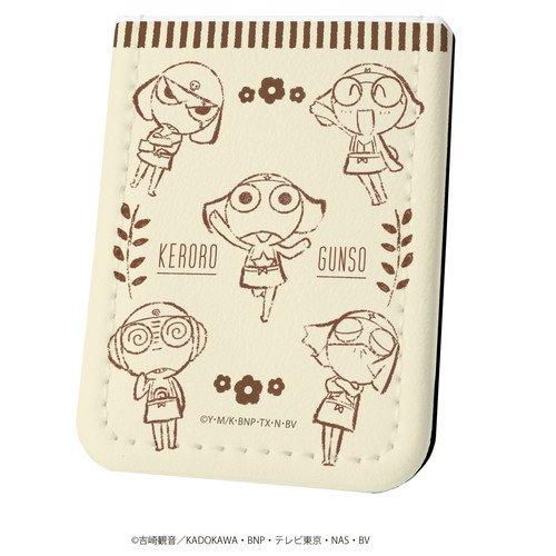 レザーフセンブック「ケロロ軍曹」03/ケロロ小隊線画デザイン カフェver.(グラフアート)